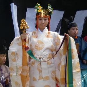 石上神宮ふる祭御旅所の様子(動画)