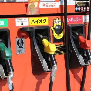 2020年ガソリン消費量