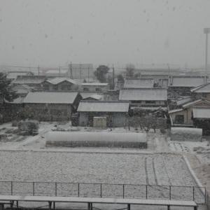 2021年の初積雪