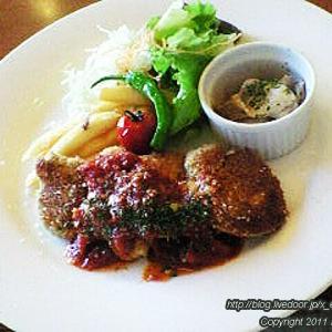 Mark Ole Cafe(マークオーレカフェ)レディース・ダブルプレートランチ