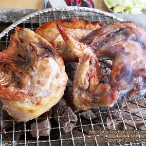 新オープン 鶏の半身焼き店 とりやきまるきゅー でバーベキュー