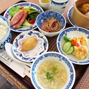 新オープン 点心喫茶 753茶房(なごみさぼう)今だけオープン記念の中国茶付き 限定20食の753日替わりランチ