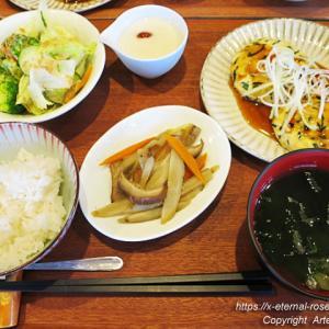 Cafe Spring ComeCome(カフェ スプリング カムカム)豆腐つくねバーグ カムカムジュース 16