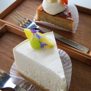新オープン 海の見えるカフェ シフォンケーキ専門店 morisuke(モリスケ)で、カフェタイム 牛窓テレモーク