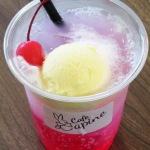 新オープン Cafe Lapine (カフェ ラピーヌ)マリトッツォ 唐揚げ弁当 いちごクリームソーダ