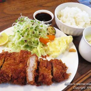 毎週木曜日 新オープン 黒豚料理のお店 とんや CAFE工房Tenjin 黒豚とんかつ定食