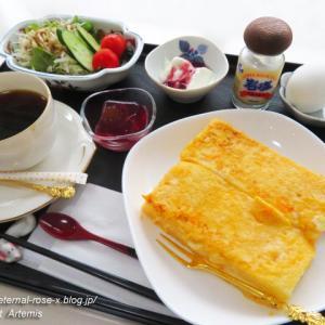 新オープン 喫茶とお直しの店 アトリエ衣 で フレンチトースト モーニング