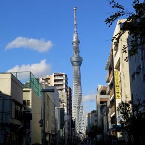 錦糸町からスカイツリーまで歩いてみる