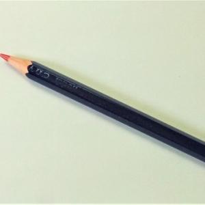 見て見て・その2(実験中の赤青鉛筆)。