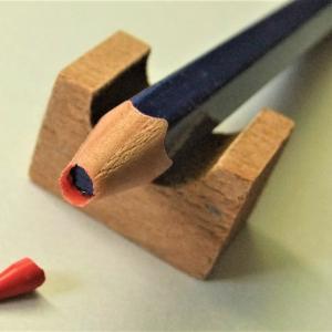 見て見て!その3(続・実験中の赤青鉛筆)。