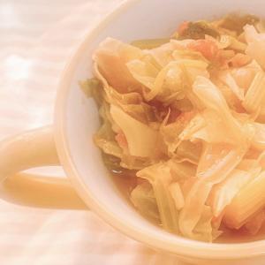 【コレは美味しい!!】漢方茶で作る、簡単やさいスープ