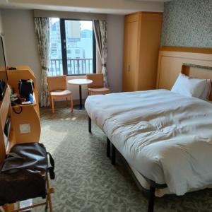 今、ホテルに到着。