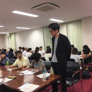 姫路の特別支援学級の先生方の研修会です。