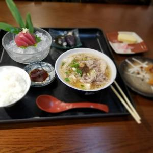 和歌山県の和歌山駅近くにあるすごろくやで肉吸い定食食べました