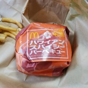 和歌山県の湯浅町にあるマクドナルドでハワイアンバーガーずいぶん前ですが食べました