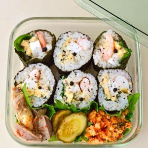 8月1日 土曜日 海老と卵とはんぺんのサラダ巻き & TATSURO YAMASHITA SUPER STREAMING