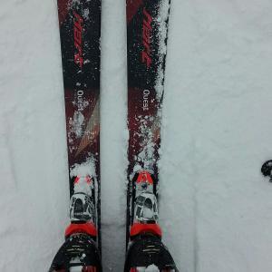 日曜日、今年初スキーざんす。