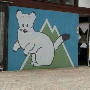 日曜日、キャンプ早朝撤収して野麦峠スキー場へ。