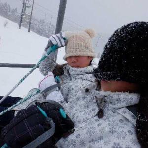 ガキ共連れてちょっと牛岳へスキーにでも。