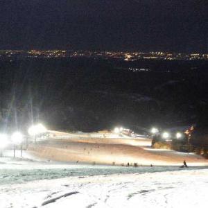 牛岳のナイターと翌日は立山でスキーな週末でした。