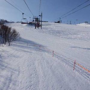 牛岳スキー→松太枝浜で今年初キャン。