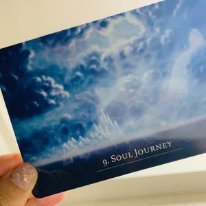 soul journey 魂の旅 新しいオラクルカードから沢山メッセージを頂いてます