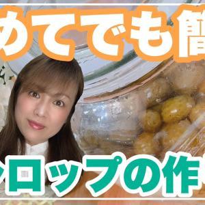 【YouTube】梅シロップの作り方 #86