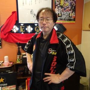 田中ケロさんのお店で中落丼&とんかつを!