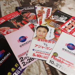 仙女のパンフレット&キャンディー奥津選手の写真集!