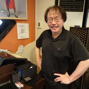 田中ケロさんのお店『けろじん』であぶり焼きチキンフライ定食を!