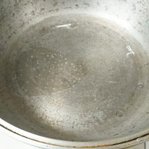 無水鍋の黒ずみ