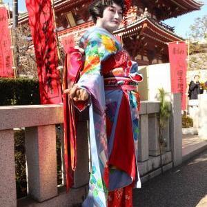 今回は自分が作品!! 浅草で伝統文化を体験・・・