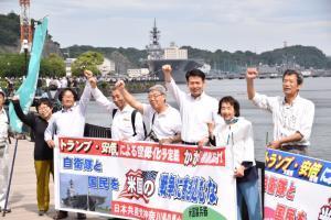 原子力艦船横須賀入港1,000回、たかなみ中東派遣について