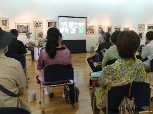 「光州・済州・OKINAWA 抵抗の表現展」シンポに参加しました