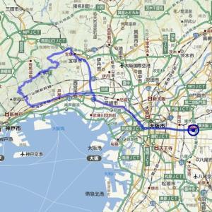 サイクリングマップアプリの獲得標高比較
