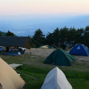 小渋温泉~陣馬形山キャンプ場