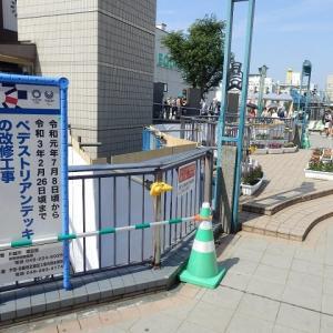 川越駅東口の新しい建物はトイレ、車イスでも利用可