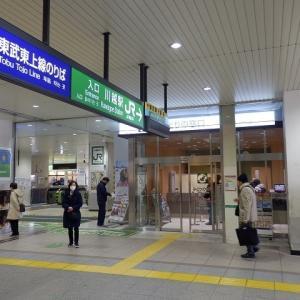 JR川越駅の改札口付近がリニューアル中