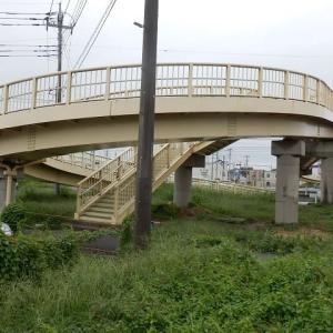 改修後 緑に変身 跨道橋(小仙波跨道橋)