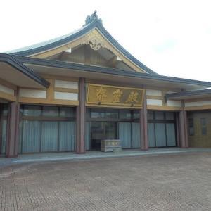 清河の八郎の筆練造墓(喜多院・斎霊殿)
