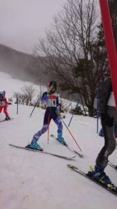 ロシニュール杯第38回アルコピアジュニアスキー大会が開催されました。