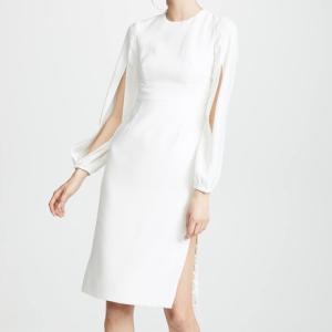 新婦さんにもオススメ!「ジル ジルスチュアート」ホワイトドレス