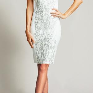 高橋尚子さん着用「タダシショージ」ホワイトドレス