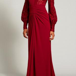 アンミカさん愛用「タダシショージ」ワインカラードレス