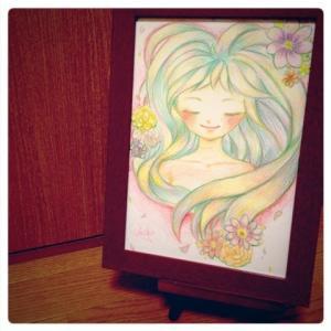 もう一度描かせてほしい【あなたのエネルギーを女神さまとして描きます】