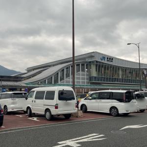 亀岡駅 送迎用駐車スペース  和泉中央駅では・・・