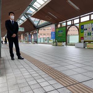 今週も、和泉中駅での朝のご挨拶から始動