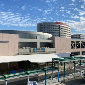 今週は、和泉中央駅前広場でのご挨拶から始動
