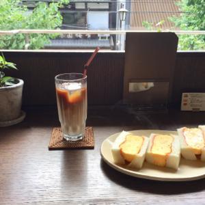 百春のたまごサンド(京都市役所前)
