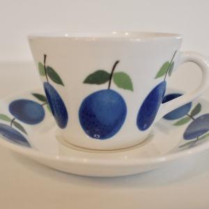 Prunusのカップ&ソーサーが届きました!